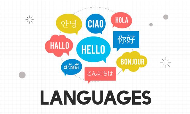 Illustration of language concept