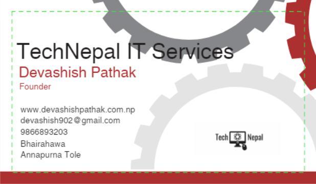 technepal business card